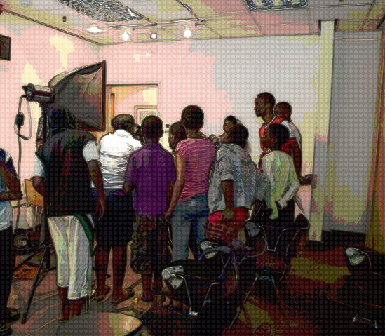 Teens learning about life as a photographer!